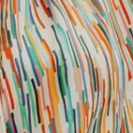 Colored Stripes Print